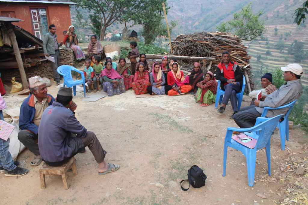 Entreprenuers selection at Dashrath Chand M-1 Pali Baitadi