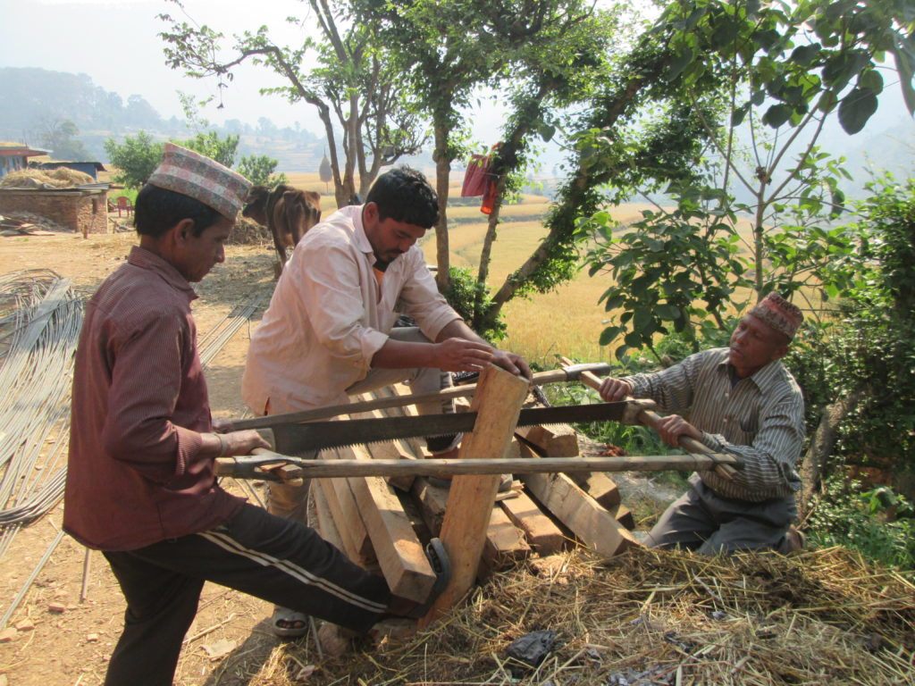 Photos of Carpenter entreprenures at patan Mr. Basant Bhul _ Mr. Harjit Bhul